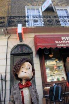 The Doctor Who Puppet Pays a Visit to Baker Street To Find Sherlock