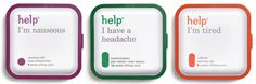 Help Remedies puts the emphasis on the end-user's problem rather than the name of the medication. The medications are all single-ingredient, and no coatings or colorings are used.
