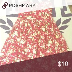 Floral Dress Only worn once!! Rue 21 Dresses Strapless
