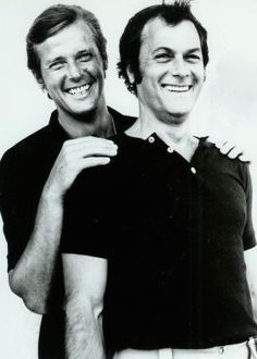 Tony Curtis & Roger Moore (The Persuaders)