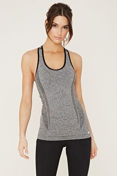 FOREVER 21 active seamless racerback tank