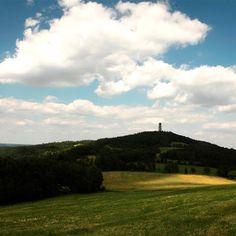 Kudy z nudy - Drtinova rozhledna na vrchu Besedná u Chotilska Golf Courses