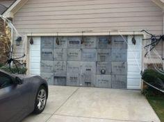 Garage Door Decoration