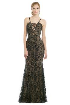 Vera Wang Noir Daffodil Gown