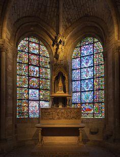 Basilica Saint-Denis, chapelle de la Vierge (Chapel of the Virgin)