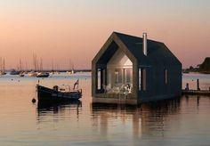Barn House Boat by NRJA Architects