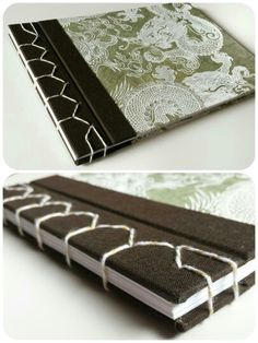 Japanese binding with asiatic paper