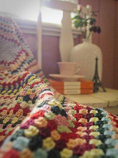 Great-grandmother's blanket @ Sophie Isobel Design