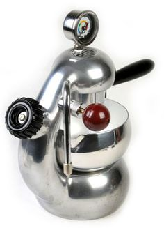 Pimped La Sorrentina Gauge Atomic Coffee Maker
