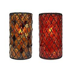 image of Mosaic LED Candle