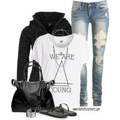 """""""We Are Young"""" by fluffof5 on Polyvore"""