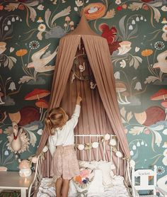 2019 NURSERY TRENDS: The Enchanted Forest.Get ready to decorate with fairies, squirrels and mushrooms. The next big thing in wallpaper is making your nursery a whole lot more magical with an array of whimsical prints to choose from. It's like stepping into anEmily Winfield Martinchildren's book.