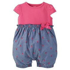Just One You™ Made by Carter's® Baby Girls' Romper - Pink