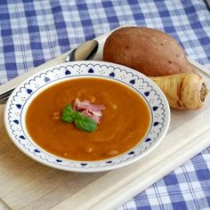 Ham Sweet Potato & Parsnip Soup  #Newfoundland, #recipes, #RockRecipes, #cooking, #food, #baking, #food #photography, #family, #meals, #StJohns Twitter: @RockRecipes