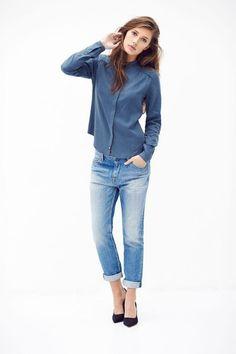 Kuyichi - Nolan Solid Shirt, 100% Tencel - www.ecosphere.se