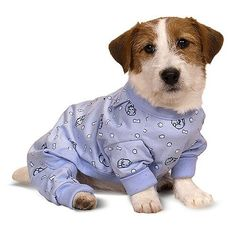 SWEET DREAMS K-9 PAJAMAS Baby Blue Small from AllPawsPetSupply   $16.50   Available at BuyDogSweaters.com