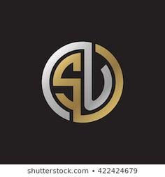 Similar Images, Stock Photos & Vectors of ST initial letters looping linked circle elegant logo golden silver black background - 422424847 Alphabet Design, S Logo Design, Lettering Design, Initials Logo, Monogram Logo, Ar Logo, Logo Ad, Logo Foto, Restaurant Logo