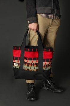 161354287c BLK PINE Workshop  Wool and Canvas Tote Bag from Urban Outfitters. I have a