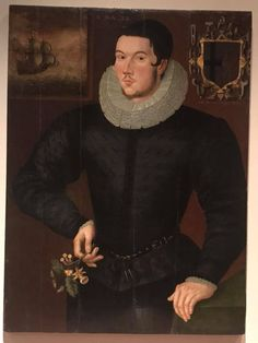 Portrait of a Young Man, 1594, Royal Ontario Museum