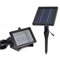 solar exterior flood lights