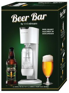Soda Stream launches instant beer machine