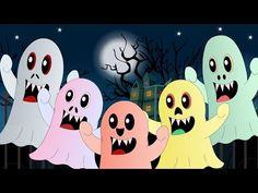 cinco pequeños monstruos | canciones infantiles - YouTube