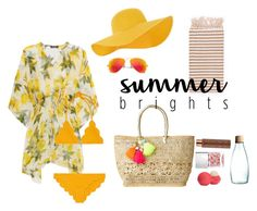 """""""summer brights"""" by anna-s0phie on Polyvore featuring Mode, Ray-Ban, Vita Liberata, Retap, Dolce&Gabbana, Lilly Pulitzer, Eos, Nails Inc., Turkish-T und Accessorize"""