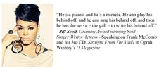 Jill Scott on Frank McComb and his music.