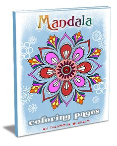 Mandala Coloring Paints to Print and step by step how to draw your own
