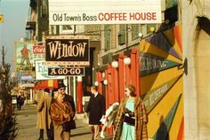 Old Town (Wells Street), 1970, Chicago. Art Shay