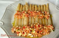 undefined Nut Recipes, Great Recipes, Cooking Recipes, Healthy Recipes, Healthy Food, Tapas, My Favorite Food, Favorite Recipes, Asparagus Recipe