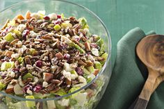 Festive Apple-Cranberry Salad Recipe