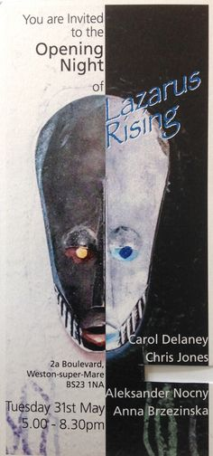 LAZARUS RISING. - http://www.xamou-art.co.uk/event/lazarus-rising/