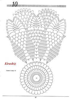 Doilies 15 and 16 Crochet Doily Diagram, Crochet Doily Patterns, Crochet Chart, Thread Crochet, Filet Crochet, Irish Crochet, Crochet Designs, Crochet Stitches, Crochet Dreamcatcher