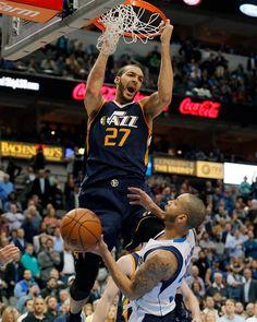 Jazz Basketball, Basketball Pictures, College Basketball, Utah Jazz, Rudy Gobert, John Mayall, Donovan Mitchell, Nba League, Nba Wallpapers