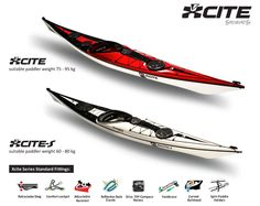 TideRace Xcite Series  kayakacademy.com