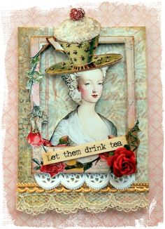 I adore Marie Antoinette ATCs.