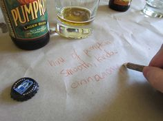fall beer tasting party ideas instead of scorecards, have people write down a description of the taste on a table runner or wall Beer Tasting Parties, Outdoor Party Lighting, Party Quotes, Lager Beer, Kids Party Themes, Partying Hard, Party Treats, Party Entertainment, Holidays And Events