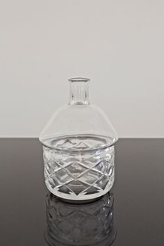 Simon Klenell | Hex Edit (Bottle) | 2014, Crystal | Unique | Sweden http://www.galleryfumi.com/Artists/Simon-Klenell/
