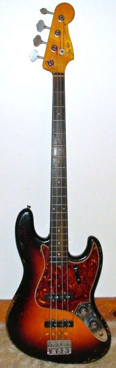 1961 Fender Jazz bass.