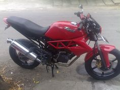 Modifikasi Motor Honda Tiger 2004 modif ducati streetfighter