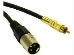 C2G / Cables to Go 40046 M/M Pro-Audio Cable (3 Feet, Black) by CTG. $9.43. Connect tape decks, CD/DVD players to mixing consoles and amplifiers