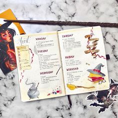 Part 80 Magical Harry Potter Bullet Journal layout ideas Bullet Journal October, Bullet Journal 2020, Bullet Journal Hacks, Bullet Journal Ideas Pages, Bullet Journal Layout, Bullet Journal Inspiration, Bullet Journals, Travel Inspiration, Harry Potter Journal