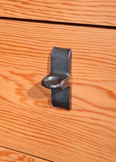 blacksmith. hand forged. Pinch Pulls