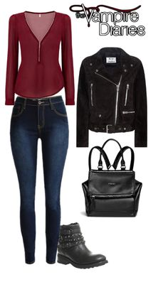 The Vampire Diaries Elena Gilbert inspired school outfit