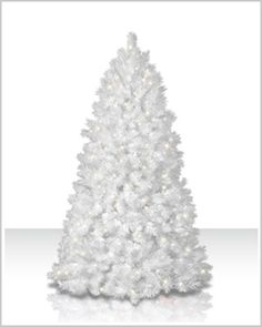 Make the 8-ft Shimmering White Christmas Tree with multi lights the shining light of your holiday decor. Its neutral hues will definitely complement any holiday theme.