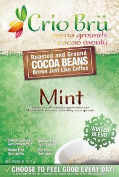 Crio Bru Mint Winter Blend to improve your monday-morning mood