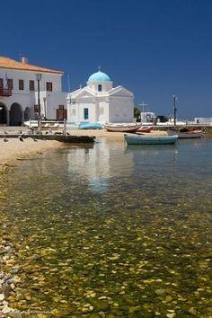 Mykonos Greece Harbour by imogene