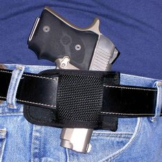 Sporting Goods Owb Holster W/ 3 Slot Belt Loop. Liberal Open Top Belt Leathe Holster Fits Ruger Lcp Holsters, Belts & Pouches
