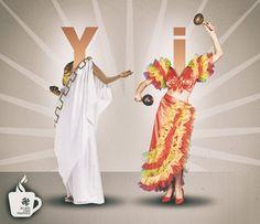 La I latina y la Y griega